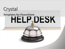 help desk powerpoint templates | crystalgraphics, Presentation templates