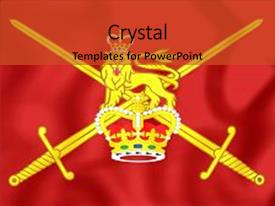 British army powerpoint templates crystalgraphics british army powerpoint templates how to order more info ppt featuring 3d flag of image and a red colored foreground toneelgroepblik Images