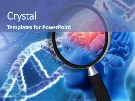 top brain genetics powerpoint templates backgrounds slides and ppt