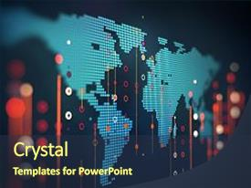 Futuristic powerpoint templates crystalgraphics ppt theme having abstract infographic with visual background and a tawny brown colored toneelgroepblik Images