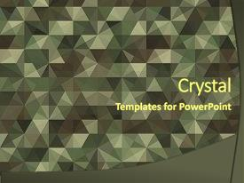 camouflage powerpoint templates | crystalgraphics, Modern powerpoint