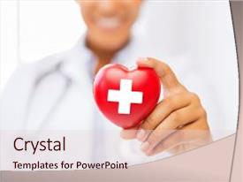 American red cross powerpoint template gallery powerpoint american red cross powerpoint templates crystalgraphics cool new slide set having african american doctor holding heart toneelgroepblik Choice Image