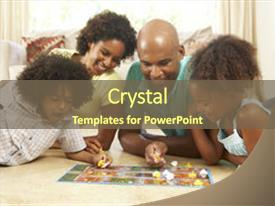 Powerpoint template signboard with different life choices 11789 ppt enhanced with african american family playing board game theme and a tawny brown colored custom template toneelgroepblik Choice Image