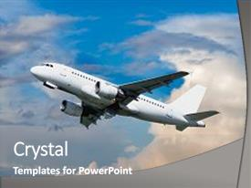airplane powerpoint templates | crystalgraphics, Modern powerpoint