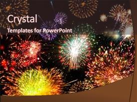 Fireworks powerpoint templates crystalgraphics ppt theme with amaze amazing fireworks fireworks 2017 fireworks background and a wine colored foreground toneelgroepblik Choice Image