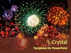 Fireworks powerpoint templates crystalgraphics amazing slides having amazing fireworks fireworks 2017 fireworks backdrop and a tawny brown colored foreground toneelgroepblik Choice Image