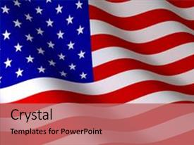 Powerpoint template american flag patriotic united states 18038 cool new ppt layouts with american flag on wind done backdrop and a coral colored foreground custom template toneelgroepblik Choice Image