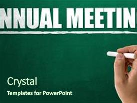 annual meeting powerpoint templates | crystalgraphics, Presentation templates