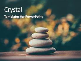Zen powerpoint templates crystalgraphics i love this presentation with art balancing pebble stones background and a toneelgroepblik Choice Image