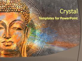 Digital art powerpoint templates crystalgraphics i love this slide set featuring asian arts head of lord buddha digital image and toneelgroepblik