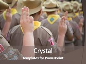 scouts powerpoint templates | crystalgraphics, Modern powerpoint