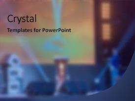 powerpoint presentation template for awards gallery - powerpoint, Presentation templates