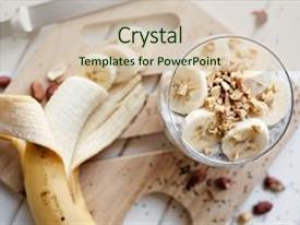 banana powerpoint templates   crystalgraphics, Presentation templates