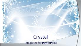 <b>Crystal</b> PowerPoint template with be used as a background themed background and a sky blue colored foreground design featuring a [design description].