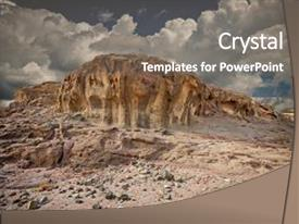 Geology powerpoint templates crystalgraphics audience pleasing presentation design consisting of beautiful scenery with unique backdrop and a toneelgroepblik Image collections
