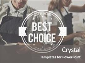 Employee service award powerpoint templates crystalgraphics crystal powerpoint template with best choice seller award finest themed background and a gray colored foreground toneelgroepblik Choice Image