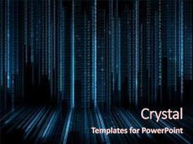 binary powerpoint templates | crystalgraphics, Modern powerpoint