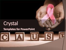 breast cancer powerpoint templates | crystalgraphics, Powerpoint templates