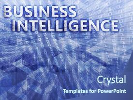 business intelligence powerpoint templates | crystalgraphics, Modern powerpoint