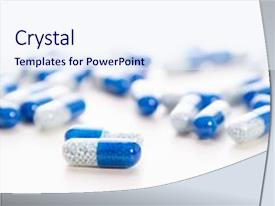 Capsules powerpoint templates crystalgraphics i love this presentation featuring capsules isolated white capsule pharmacy image and a sky blue colored toneelgroepblik Choice Image
