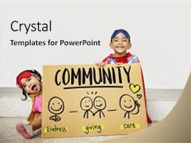 charity powerpoint templates | crystalgraphics, Modern powerpoint