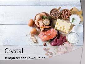 milk dairy powerpoint templates   crystalgraphics, Presentation templates