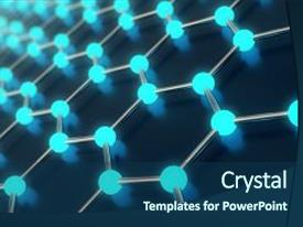 Nano particle powerpoint templates crystalgraphics colorful presentation theme enhanced with chemistry 3d rendering abstract backdrop and toneelgroepblik Gallery