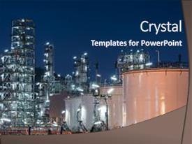 petroleum engineering powerpoint templates | crystalgraphics, Presentation templates