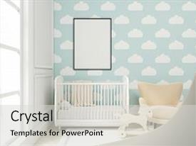 PPT layouts enhanced with children - close up of a child background and a light gray colored foreground.