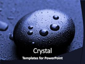 Powerpoint template zen stones with a sand in the background 32200 powerpoint enhanced with closeup shot of shiny zen theme and a black colored foreground custom template toneelgroepblik Gallery