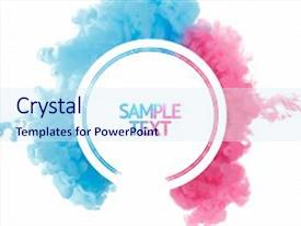 Liquid powerpoint templates crystalgraphics beautiful ppt featuring swirl color smoke abstract template design image and a sky blue colored toneelgroepblik Images