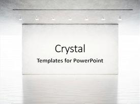 3d museum powerpoint templates crystalgraphics concrete wall in contemporary art background toneelgroepblik Gallery