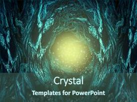 Creepy powerpoint templates crystalgraphics presentation with copy space as a spooky background and a ocean colored foreground toneelgroepblik Choice Image
