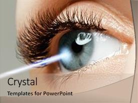 Eye powerpoint templates crystalgraphics slide set having eye correction eyesight concept future technology backdrop and a mint green colored toneelgroepblik Choice Image