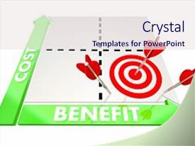 cost benefit powerpoint templates | crystalgraphics, Modern powerpoint