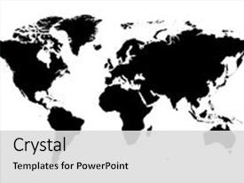 I love this template featuring detailed world map image and a light gray colored foreground.