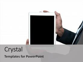 Apple inc powerpoint templates crystalgraphics ppt theme enhanced with developed by the apple inc background and a light gray colored foreground toneelgroepblik Image collections
