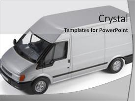 Presentation design featuring die-cast toy model background and a light gray colored foreground.