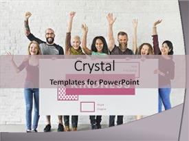 Community service powerpoint templates crystalgraphics crystal powerpoint template with donation community service volunteer support themed background and a light gray colored toneelgroepblik Gallery