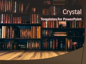 Library powerpoint templates crystalgraphics slide set having library education blurred image many backdrop and a wine colored foreground toneelgroepblik Image collections