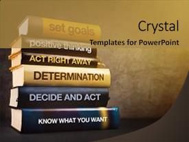 Knowledge management powerpoint templates crystalgraphics slide set having education six steps backdrop and a gold colored toneelgroepblik Gallery