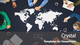 Powerpoint template globe books with students in background presentation featuring education world global cartography globalization earth image and a dark gray colored foreground custom template design 20000 toneelgroepblik Gallery