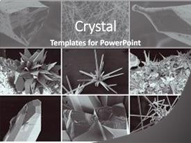 Crystal powerpoint templates crystalgraphics presentation design featuring electronics nanotechnology collage background and a gray colored foreground toneelgroepblik Gallery