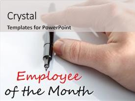 star performer month powerpoint templates | crystalgraphics, Modern powerpoint