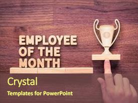 employee month powerpoint templates | crystalgraphics, Modern powerpoint