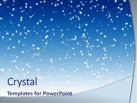 falling snow powerpoint templates | crystalgraphics, Modern powerpoint