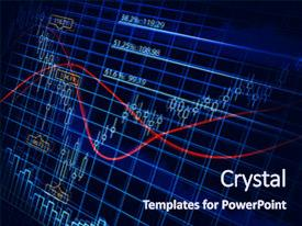 Theme featuring finance diagram stock chart business background and a navy blue colored foreground.