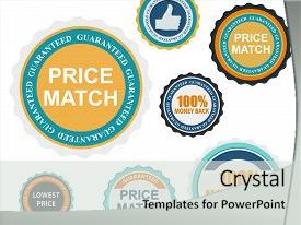 Long service award powerpoint templates crystalgraphics ppt enhanced with flat modern design with long theme and a light gray colored foreground toneelgroepblik Choice Image