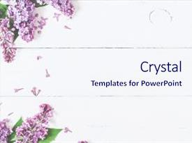 flowers powerpoint templates | crystalgraphics, Powerpoint templates