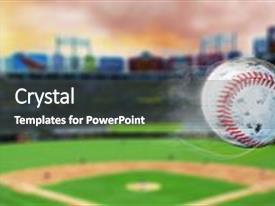 baseball powerpoint templates | crystalgraphics, Modern powerpoint